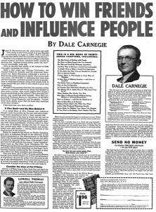 """Bài viết quảng cáo tác phẩm """"Đắc nhân tâm"""" (Dale Carnegie) của Victor O. Schwab"""