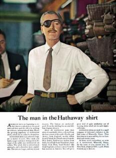 Chiến dịch quảng cáo áo sơ-mi Hathaway của David Ogilvy