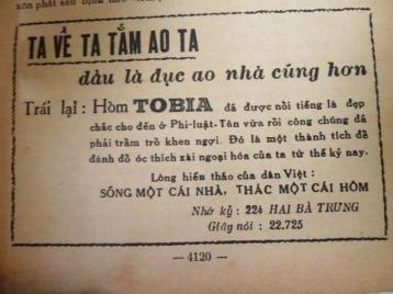 Quảng cáo quan tài (hòm) Tobia - Nghệ Thuật Viết Quảng Cáo