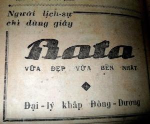 Quảng cáo giày Bata - Nghệ Thuật Viết Quảng Cáo