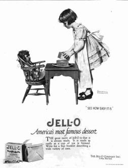 Mẩu quảng cáo Jell-O của Norman Rockwell - Nghệ Thuật Viết Quảng Cáo