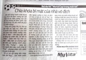 Phan Nguyễn Khánh Đan bình luận bóng đá - 2016 07 08