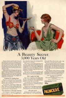 Mẩu quảng cáo Palmolive của Claude Hopkins - Bí mật 3000 năm tuổi giúp Bạn sở hữu Sắc Đẹp Vượt Thời Gian - ThS. Phan Nguyễn Khánh Đan