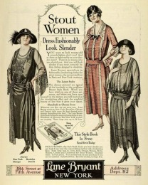 """Quảng cáo thời trang dành cho """"Những quý cô có dáng người phúc hậu"""" (2) - Lane Bryant - ThS. Phan Nguyễn Khánh Đan"""