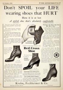 Ví dụ thư chào hàng thành công - Giày Red Cross 1906