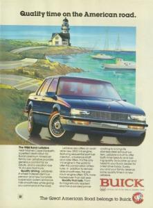 Quảng cáo ô-tô Buick LeSabre năm 1988 (full) - blog Nghệ Thuật Viết Quảng Cáo