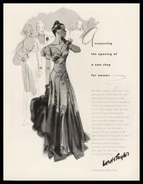 Quảng cáo cửa hàng thời trang nữ - Lord & Taylor 1938 - blog Nghệ Thuật Viết Quảng Cáo - ThS. Phan Nguyễn Khánh Đan