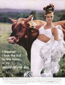 Một mẩu quảng cáo nội y Maidenform trên tạp chí LOOK vào năm 1962 - blog Nghệ Thuật Viết Quảng Cáo -- ThS. Phan Nguyễn Khánh Đan