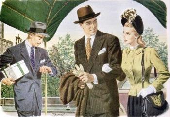 Quảng cáo mũ Stetson 1940 - quảng cáo thời trang nam - ThS. Phan Nguyễn Khánh Đan - blog Nghệ Thuật Viết Quảng Cáo